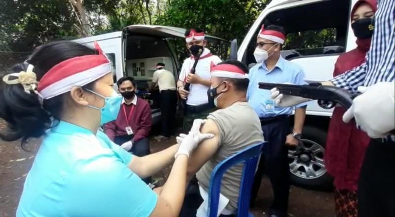 Polresta Bandar Lampung Kembali Gelar Vaksinasi Keliling