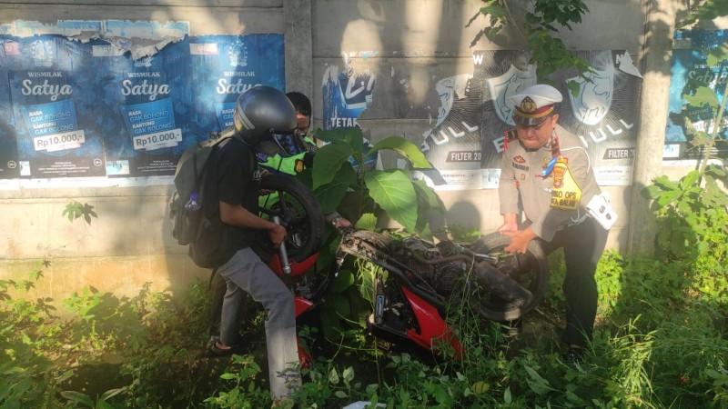 Polresta Bandar Lampung Sita 25 Motor Pebalap Liar