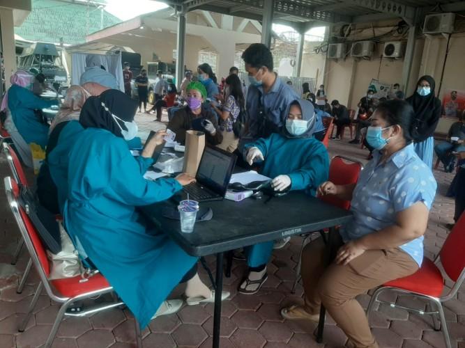 Polresta Gelar Vaksinasi Gratis Sampai 31 Agustus