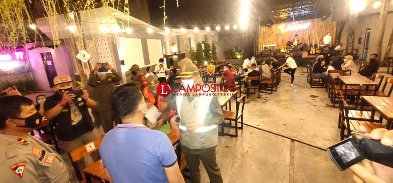 Kafe dan Spa di Bandar Lampung Disidak