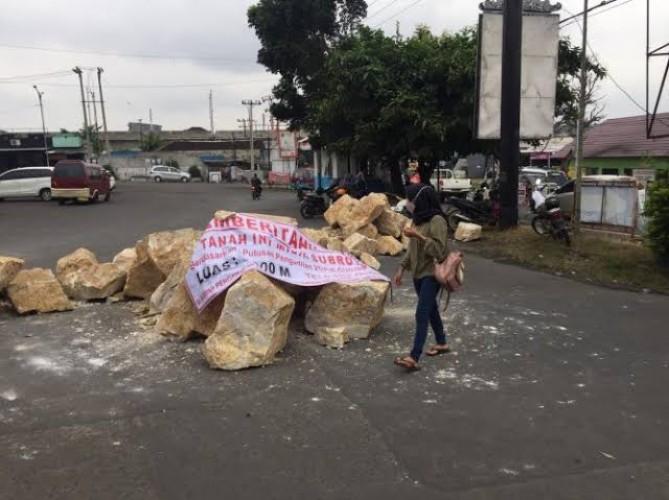 Polresta Usut Penutupan Jalan Sepihak di Terminal Kemiling