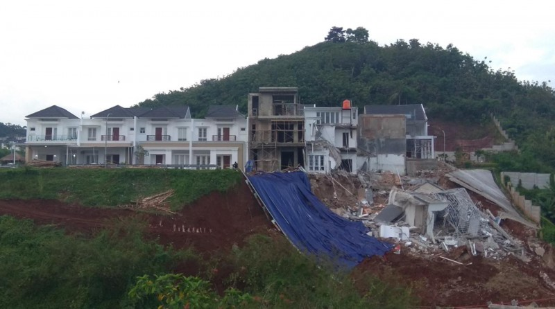 Polresta Usut Robohnya Rumah di CitraLand