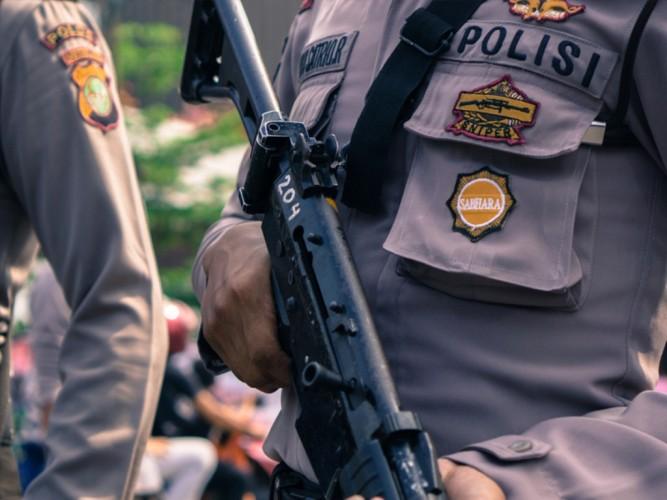 Polri Terjunkan 2.690 Brimob Adang Demo Simpatisan Rizieq