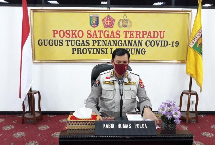 Polri/TNI Tetap Bersiap MeskiLampung Belum Terapkan <i>New</i> Normal