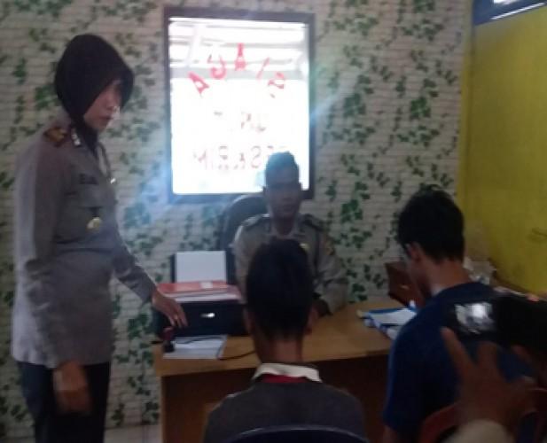 Polsek Metrokibang Bekuk Dua DPO Perampas Motor