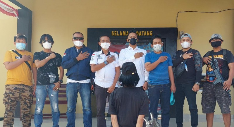 Polsek Pulaupanggung Tangkap Pembobol Kotak Amal di Pekon Tekad Tanggamus