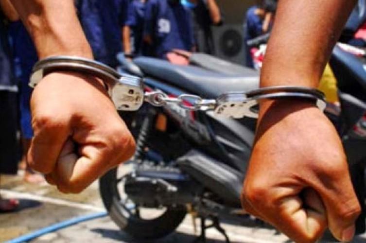 Polsek Simpang Pematang Tangkap Pencuri Motor di OKI