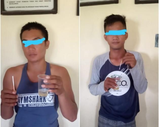 Polsek Sragi Amankan Dua Pelaku Penyalahgunaan Narkoba