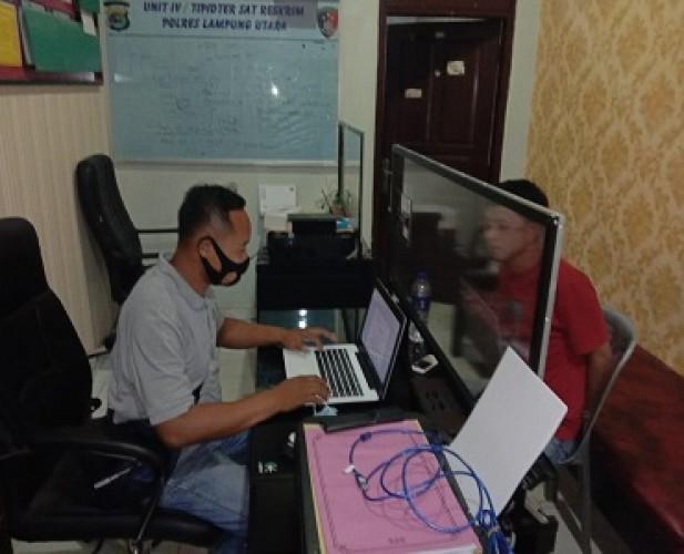 Polsek Sungkai Selatan Bekuk Residivis Curanmor di Bandarjaya