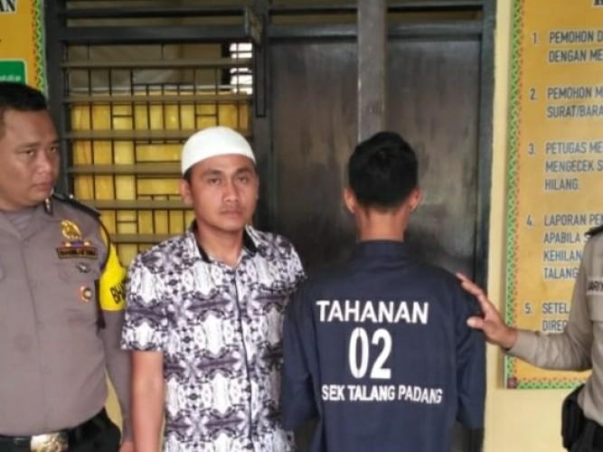 Polsek Talang Padang Bekuk Penadah Hasil Curian