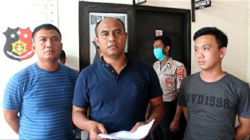 Polsek Tumijajar Jemput Dua DPO Pembobol Bengkel di Jambi