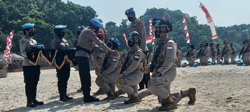 Polwan Asal Lampung Jadi Peserta Terbaik Pelatihan untuk Misi Perdamaian PBB