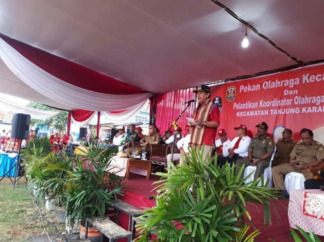 Porcam Tanjungkarang Barat DiharapkanLoloskan Atlet ke PON