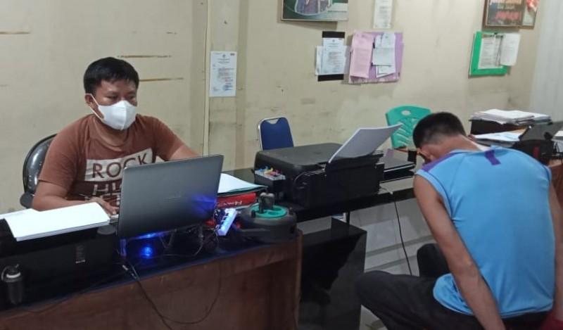 Polres Lampura Tangkap Tukang Ojek Pengedar Sabu