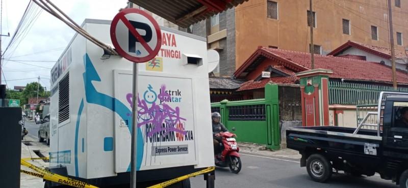 Power Bank PLN Biang Kemacetan di Jalan Pajajaran