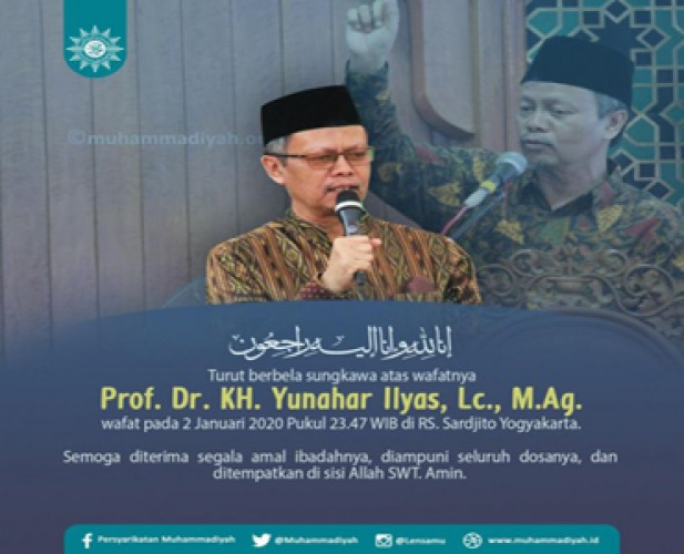 PP Muhammadiyah Kosongkan Posisi Yunahar sampai Muktamar