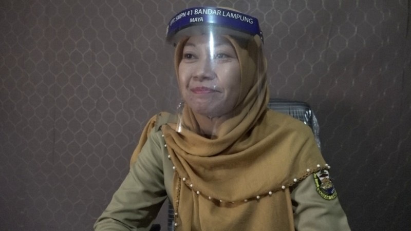 PPDB SMPN 41 Bandar Lampung Terapkan Protokol Kesehatan