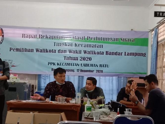 PPK Gelar Pleno Hasil Penghitungan Suara Tingkat Kecamatan