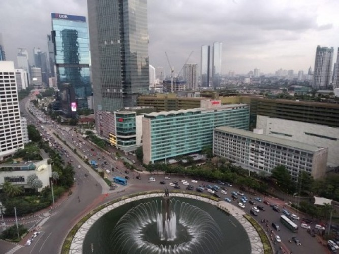 PPKM Jakarta Turun Menjadi Level 2