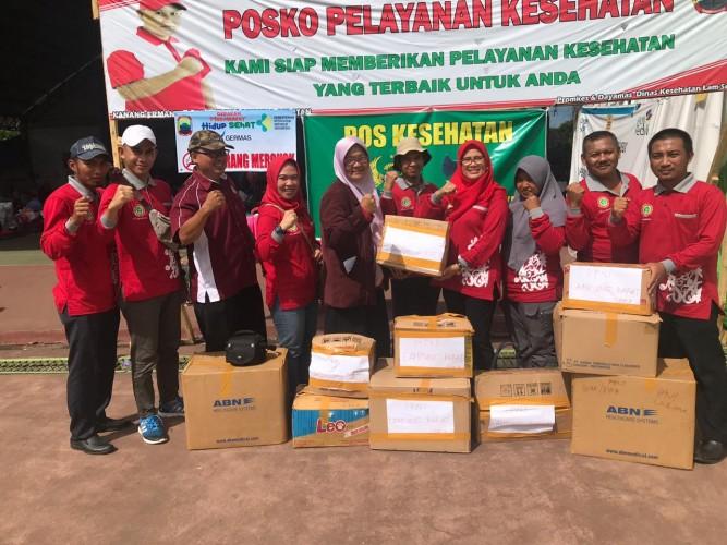 PPNI Lambar Kirim Sukarelawan dan Bantuan untuk Korban Tsunami Lamsel