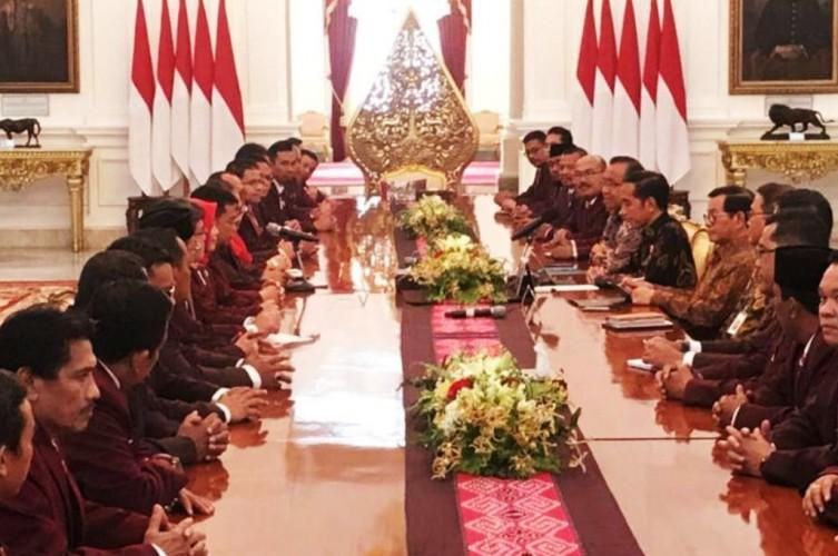 PPNI Lampung Temui Jokowi Bahas Nawacita Kesehatan