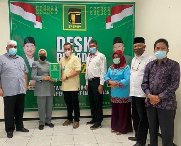 PPP Resmi Dukung Duet Dendi-Marzuki di Pesawaran