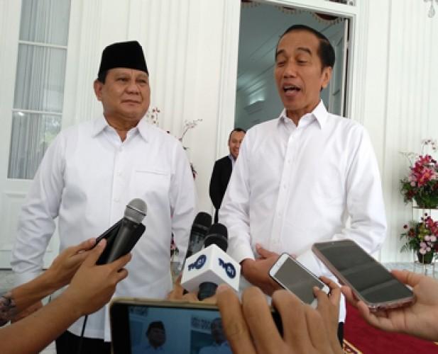 Prabowo Mengaku Bukan Tamu Besar tapi Anak Buah Jokowi