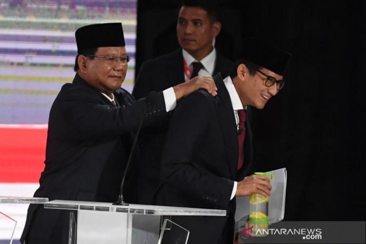 Prabowo-Sandi Tidak Ambil Gaji Apabila Terpilih