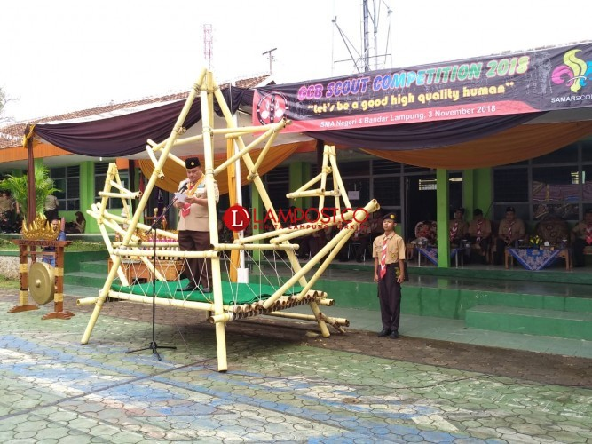 Pramuka Lampung akan Bangun Bumi Perkemahan Pinggir Pantai
