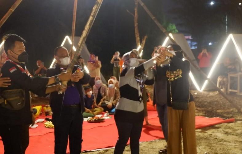 Pramuka Lampung Luncurkan Pasar Kuliner Tradisional