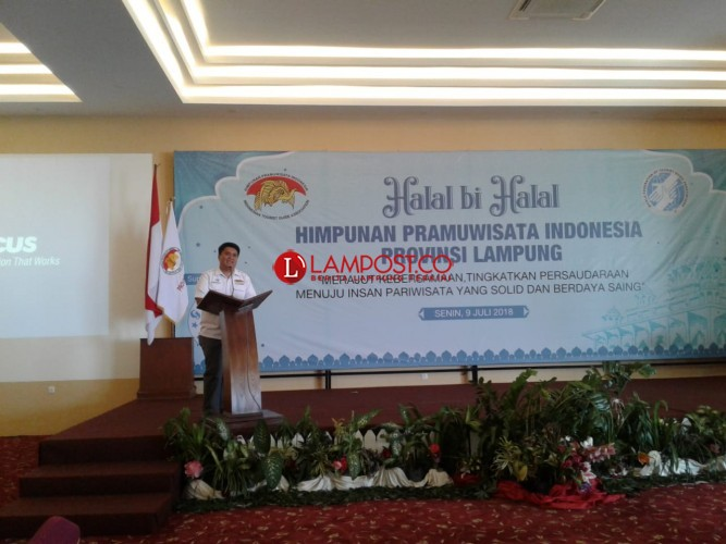 Pramuwisata Lampung Dituntut Kuasai Multi Bahasa