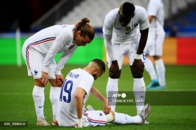 Prancis Gasak Bulgaria, Karim Benzema Dibayangi Cedera