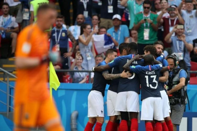 Prancis Tekuk Argentina 4-3 di Laga 16 Besar