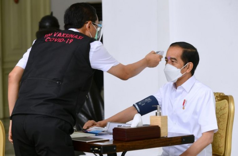 Presiden Ajak Masyarakat Dukung Vaksinasi Covid-19