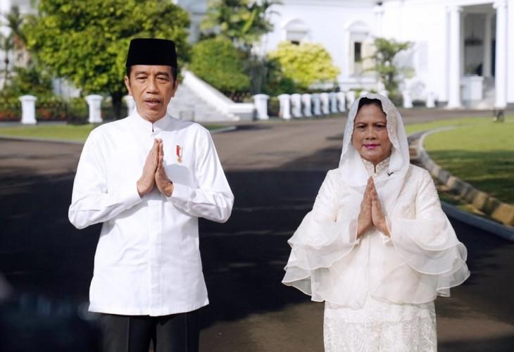 Presiden dan Wapres Silaturahmi Idulfitri via Panggilan Video