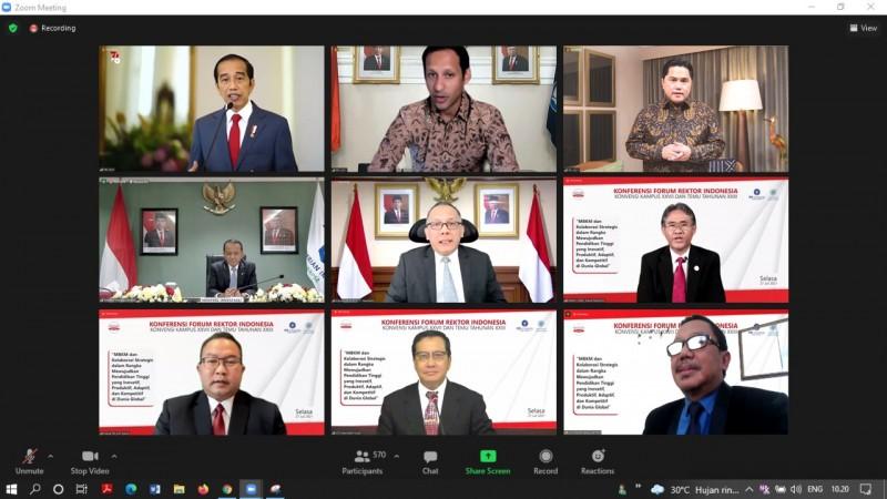 Presiden Jokowi Buka Konferensi FRI, Nasrullah Yusuf Didaulat Jadi Moderator
