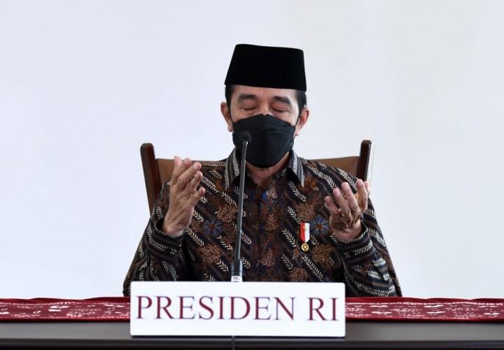 Presiden Jokowi: Jadikan Iduladha Momentum Berkorban Hadapi Covid-19