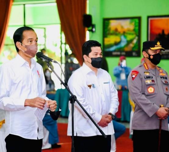 Presiden Perintahkan Menkes segera Kirim Vaksin ke Lampung