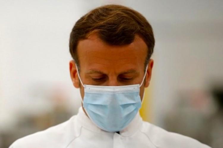 Presiden Prancis Emmanuel Macron Kena Covid-19