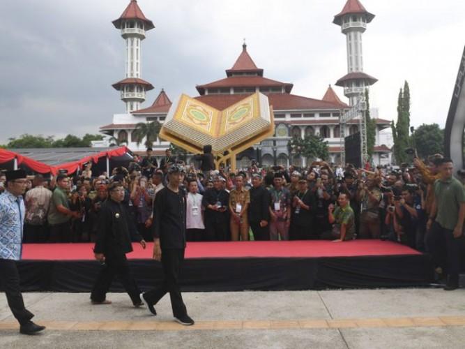 Presiden Sebut Alun-Alun Cianjur Contoh Ruang Publik Bagus