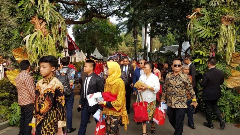 Presiden Undang Masyarakat Hadiri Upacara di Istana Merdeka