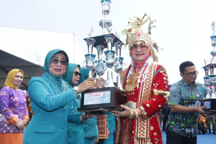Pringsewu Meraih Juara Berbagai Lomba di Harganas XXVI