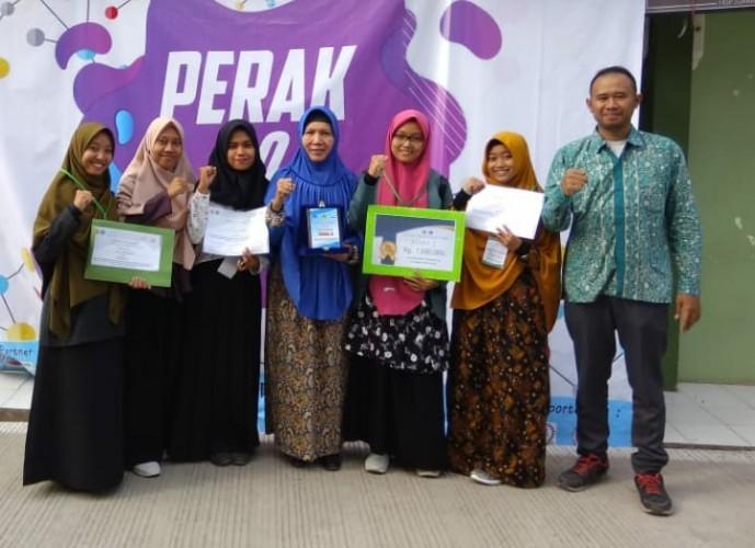 Prodi Kimia FKIP Unila Sabet Juara II di Ajang Perak 5.0
