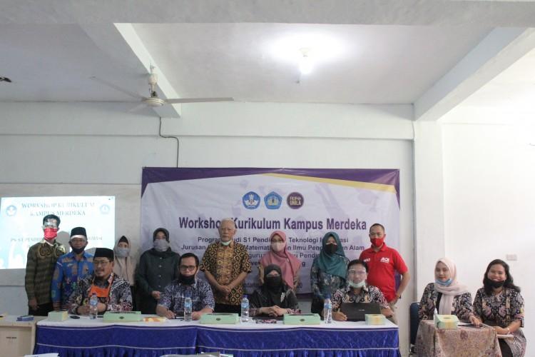 Prodi PTIFKIP Unila SiapkanKurikulum Merdeka Belajar