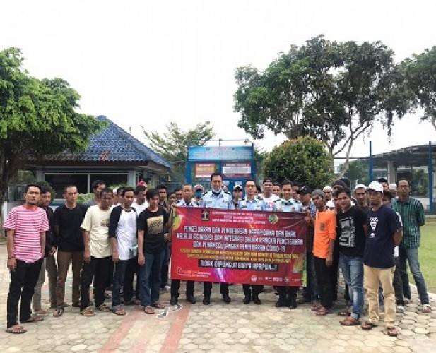 Program Asimilasi, LP Narkotika Bandar Lampung Bebaskan 60 Narapidana