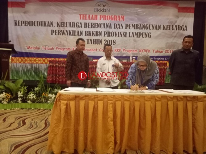 Program Keluarga Berencana di Lampung Masuk Kategori Sukses