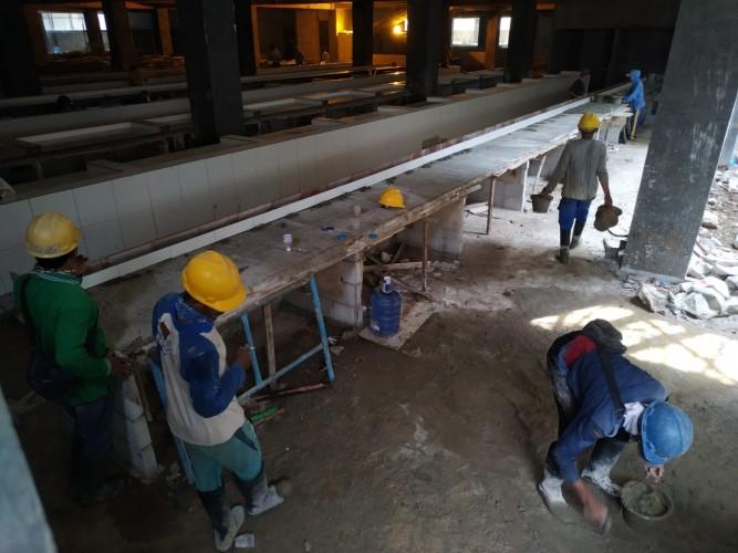Progres Pembangunan Pasar SMEP Capai 84 Persen