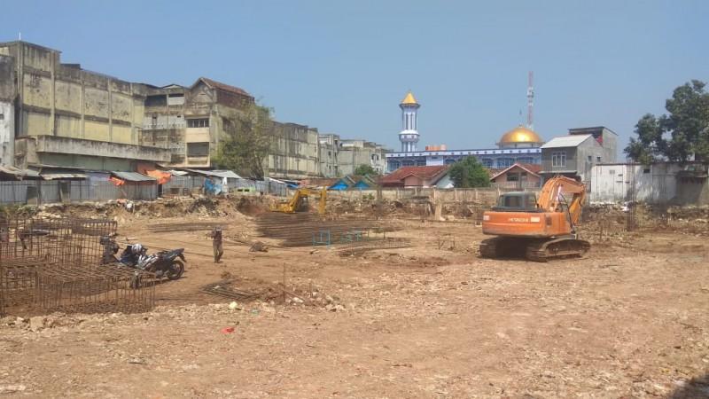 Progres Pembangunan PasarSMEP Sudah 12 Persen