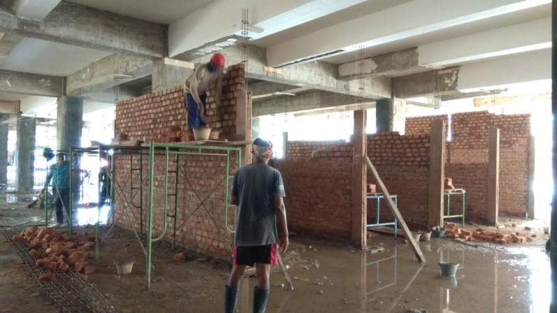 Progres Pembangunan Pasar SMEP Tahap II Capai 26,2 Persen