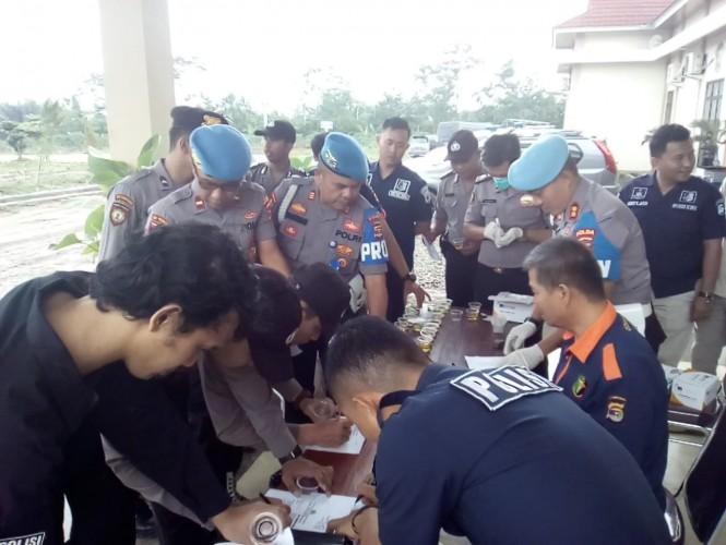 Propam Polda Lakukan Penertiban Disiplin di Polres Pesawaran